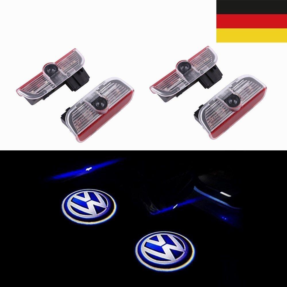 vw 2x led autodeur licht laser projector vw logo amp