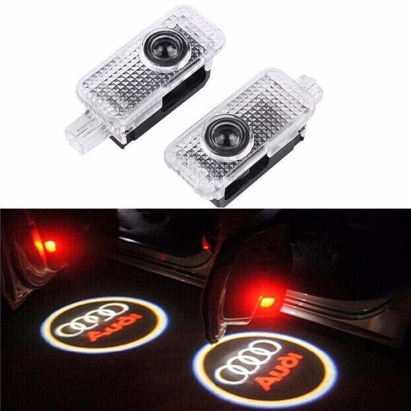 AUDI-2x-LED-Auto-Deur