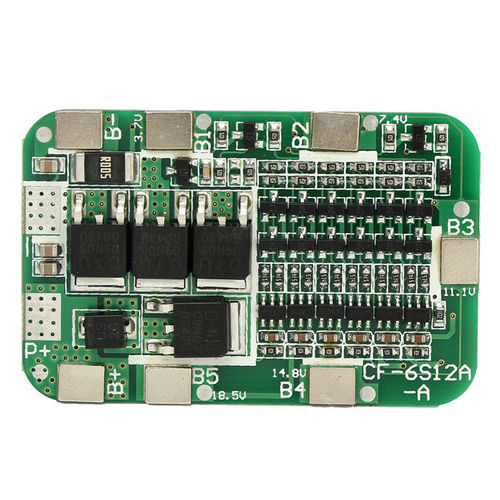 6S 15A BMS Protection PCB Tafel For 6 Packs Li-ion Lithium 18650 Batterie Cells